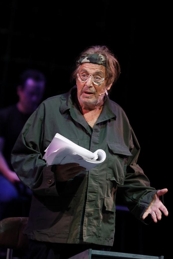 Photos: Al Pacino Headlines Staged Reading Of THE BASIC TRAINING OF PAVLO HUMMEL