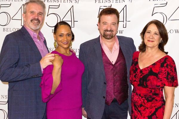 George Dvorsky, Rema Webb, Alan Wager, Karen Ziemba,  Photo