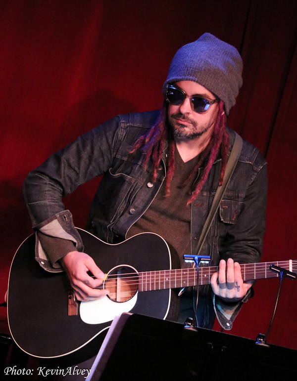 Photo Flash: Constantine Maroulis Hits the Stage At Birdland, With Special Guest Frank Wildhorn