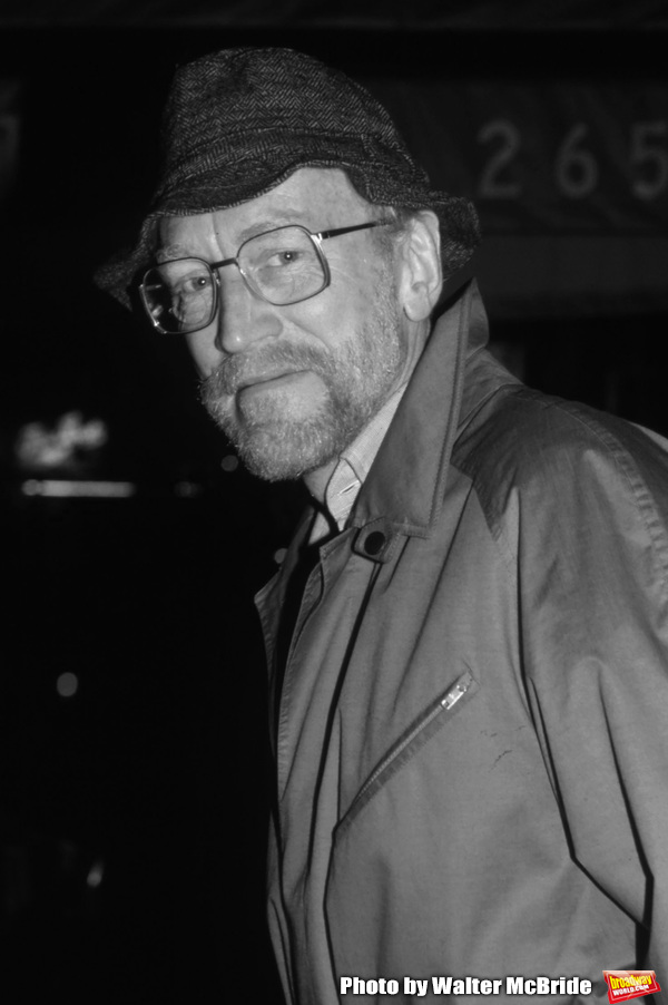 """Max Von Sydow after the final Broadway performance of """"Duet for One"""" on January 2, 19 Photo"""