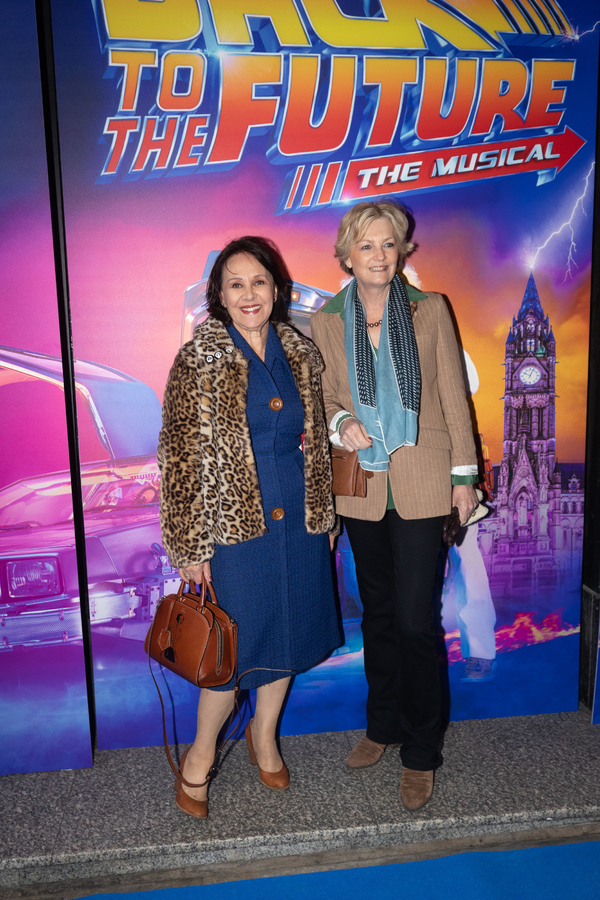 Arlene Phillips and Madeleine Lloyd Webber Photo