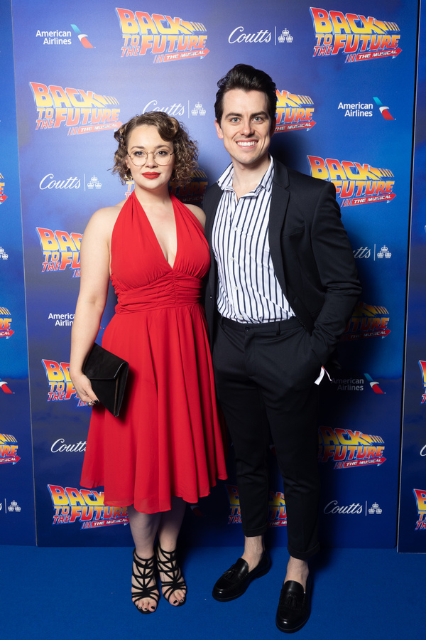 Carrie Hope Fletcher and Oliver Ormson Photo