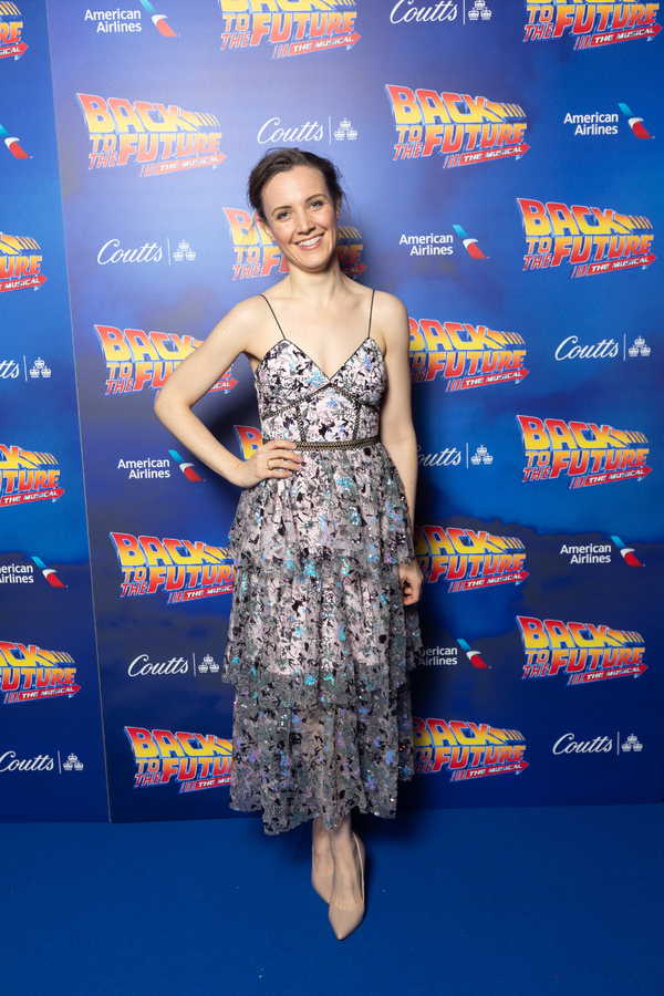 Photo Flash: Roger Bart, Olly Dobson and More at Opening Night of BACK TO THE FUTURE