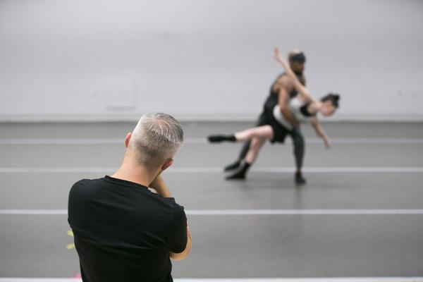 Photo Flash: Choreographer Joshua Beamish in the Lab With Dance Lab New York
