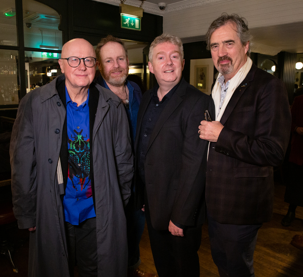 Niall Buggy, Jim Culleton, David Ganley & Sebastian Barry Photo
