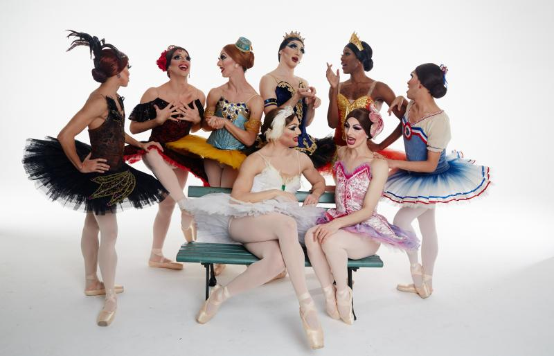 BWW Review: LES BALLETS DE TROCKADERO DE MONTE CARLO And Guest Brooke Lynn Hytes Bring Camp, Laughs, And Sheer Talent To Classic Ballet
