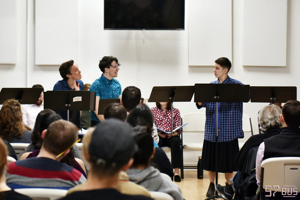 Photo Flash: Inside The NYC Reading Of The New Musical 57 BUS
