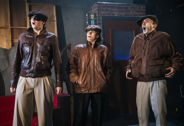 Photo Flash: First Look at New Old Friends' CRIMES, CAMERA, ACTION