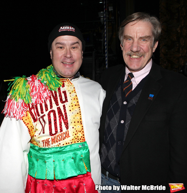 Merwin Foard & Nick Wyman attending the Broadway Opening Night Performance  Gypsy Rob Photo