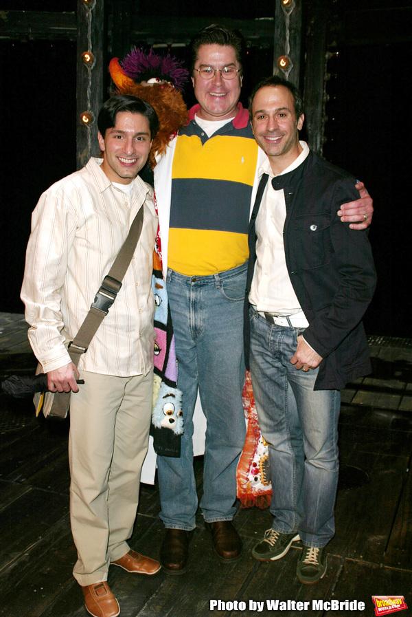 Merwin Foard ( winner from the ASSASSINS ) with Vince Pesce ( winner from WONDERFUL T Photo