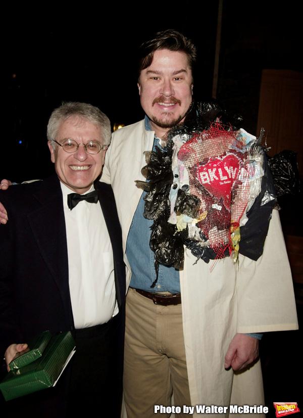 Merwin Foard ( Gypsy winner La Cage Aux Folles )  with Jerry Zaks ( Director )Attendi Photo