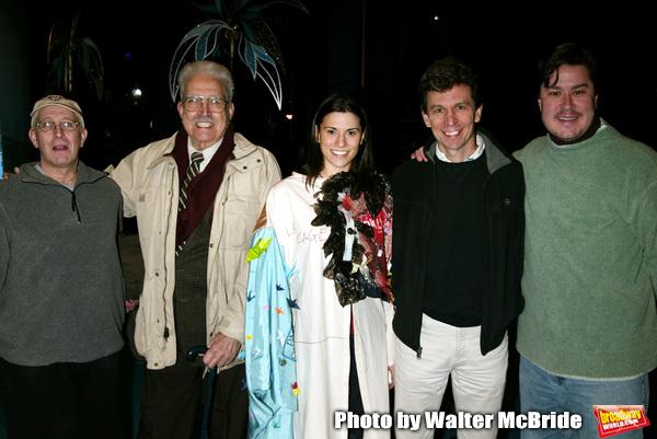 Past Gypsy Robe Winners: Bill Nobel, Jack Dadoub, Milena Govich, Robin Haynes and Mer Photo