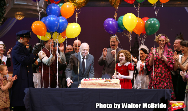 Clarke Thorell, Anthony Warlow, Charles Strouse, Merwin Foard, Lilla Crawford, Jane L Photo