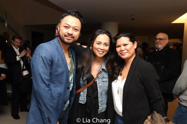 Billy Bustamante, Ernabel Demillo, Liz Casasola Photo