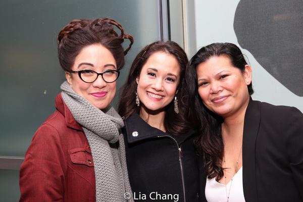 Jaygee Macapugay, Ali Ewoldt, Liz Casasola Photo