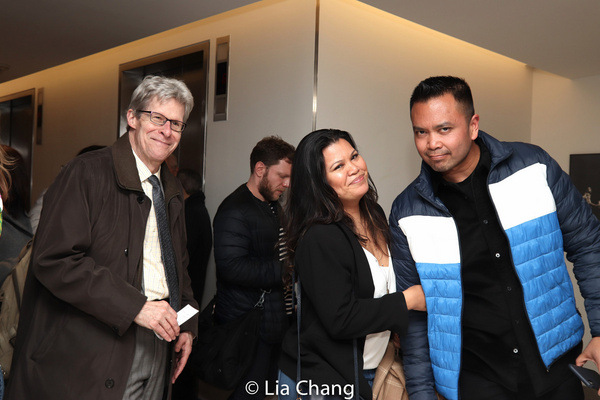 Ted Chapin, Liz Casasola, Jose Llana Photo