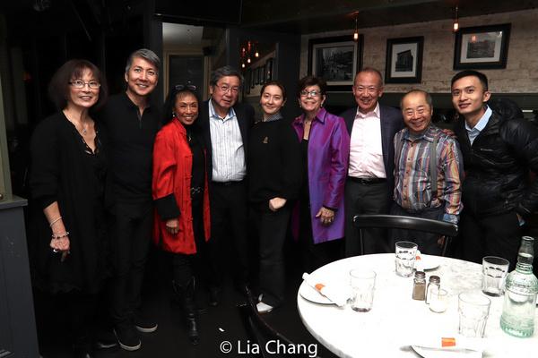 Lucy Kan, Jason Ma, Baayork Lee, Victor Kan, Cassie Kivnick, Linda Sanchez, Gregory H Photo