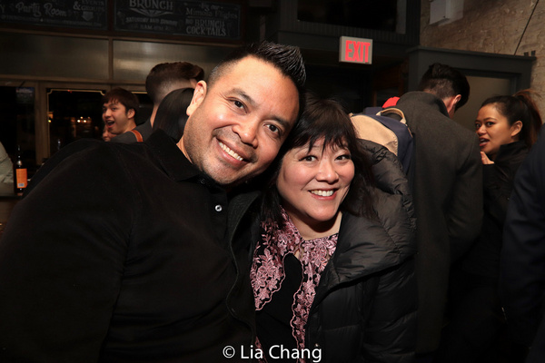 Jose Llana and Ann Harada Photo