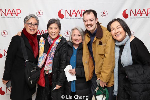 Nina Zoie Lam, Wai Ching Ho, Matt DaSilva, Emily Kuroda Photo