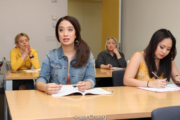 Photo Flash: Jaygee Macapugay, Garth Kravits And Paulo K Tirol On The Set Of THE LANGUAGE LESSON