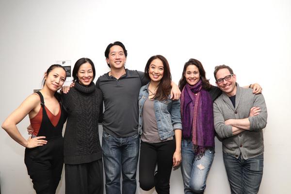 Jessica Wu, Eric Elizaga, Jaygee Macapugay, Ali Ewoldt and Garth Kravits Photo