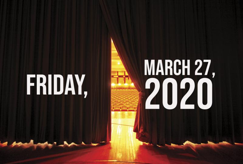 Virtual Theatre Today: Friday, March 27- with Cheyenne Jackson, Mandy Gonzalez and More!