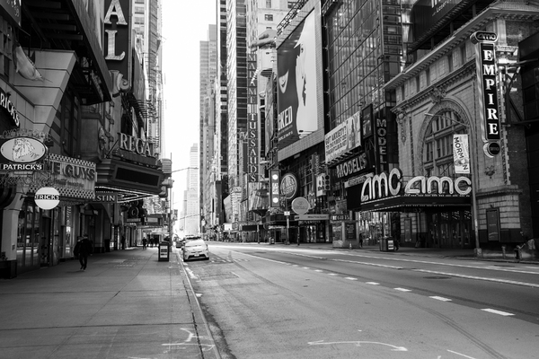 Photo Coverage: 19 Eerie Images of a Desolate Times Square