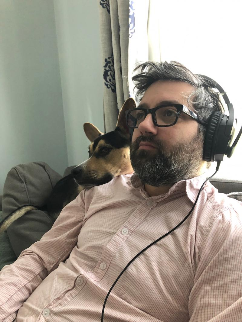 BWW Backstage Pets: MIKE SABLONE and Cooper