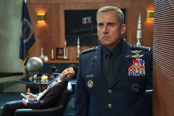 Photo Flash: See Steve Carell, Lisa Kudrow, & More in a First Look at SPACE FORCE