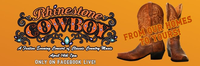 BWW Previews: Centre Stage's Live Streaming Event RHINESTONE COWBOY Premieres Tonight on Facebook Live