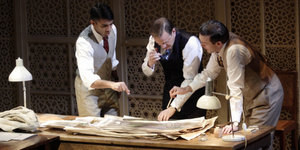 BWW Review: DRAWING THE LINE, Hampstead Theatre Live Stream