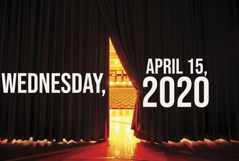 Virtual Theatre Today: Wednesday, April 15- with Kyle Selig, Teal Wicks and More!