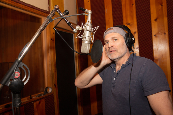 Photo Flash: Inside the Recording Studio with the Cast of GIRL FROM THE NORTH COUNTRY
