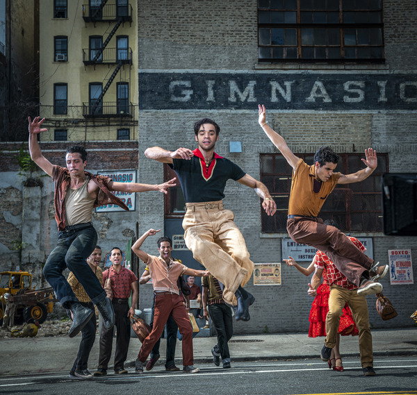 Photo Flash: See Ariana DeBose, Rita Moreno, & More in the WEST SIDE STORY Film!