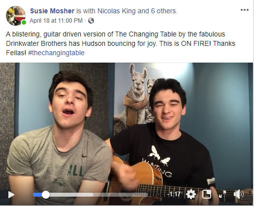 BWW Feature: Hudson Mosher Royaltey Gives Birth To Online Musical Movement With THE CHANGING TABLE
