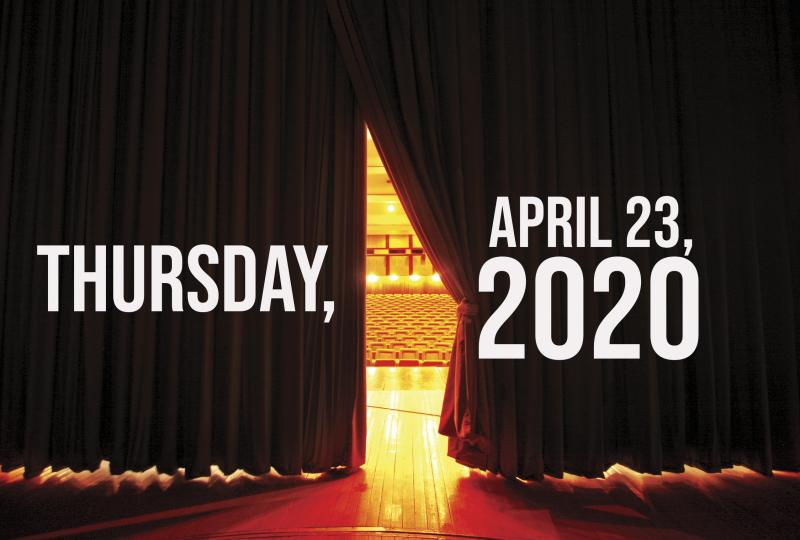 Virtual Theatre Today: Thursday, April 23- with Rachel Tucker, Joe Iconis and More!