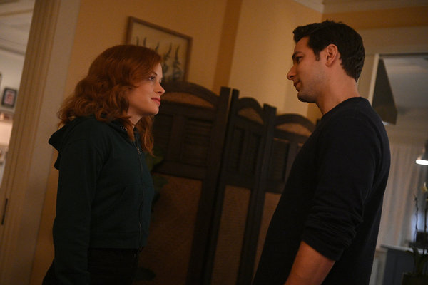 Jane Levy, Skylar Astin  Photo by: Sergei Bachlakov/NBC