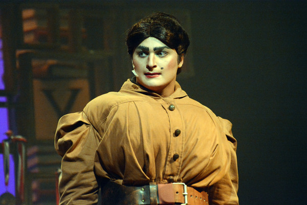 "Best Leading Actor: Eric Jensen from Friendswood High School as ""Miss Trunchbull"" Photo"