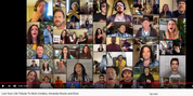 VIDEO: Theater Community Creates Virtual Cover of LIVE YOUR LIFE As Tribute To Fighting Nick Cordero