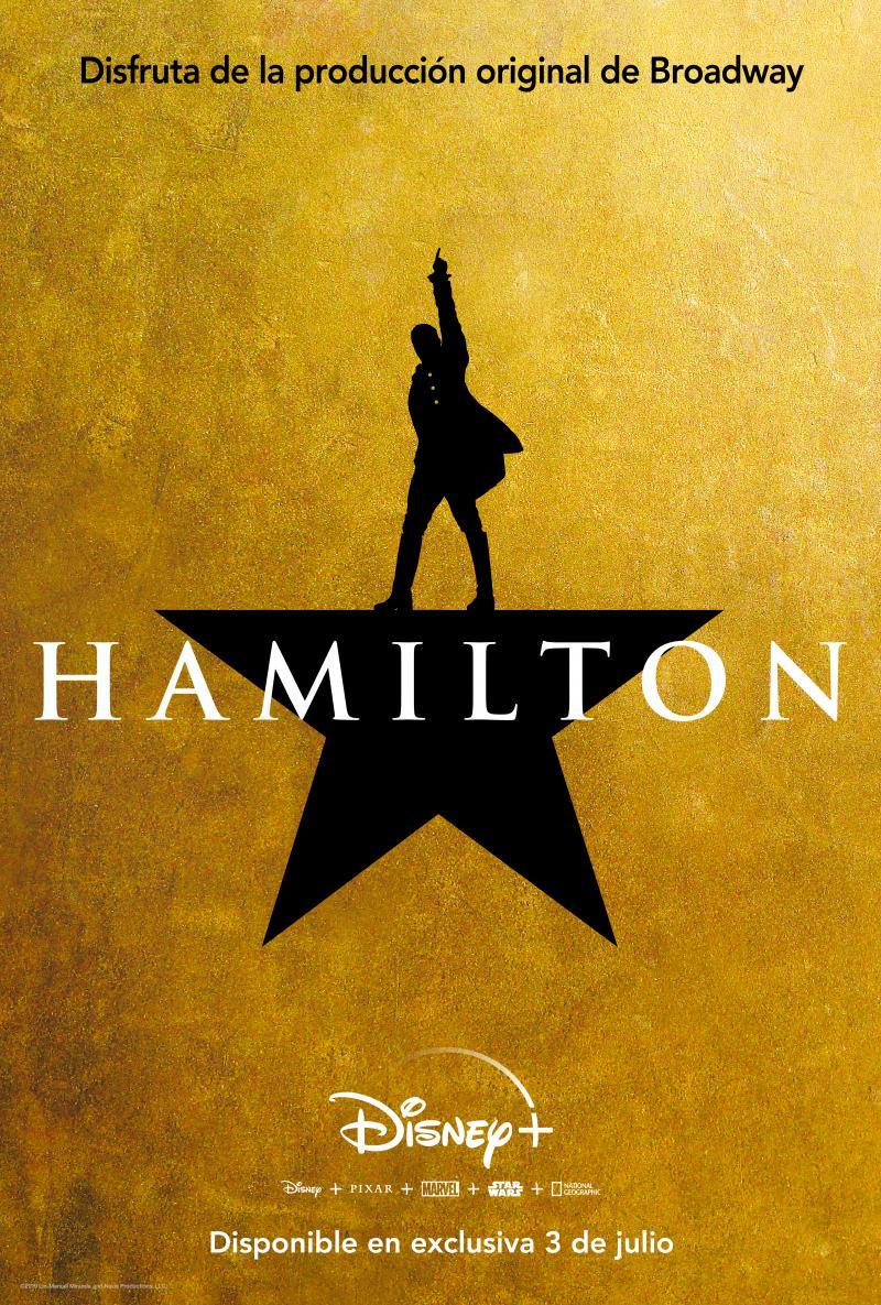 HAMILTON estará disponible en Disney + este verano