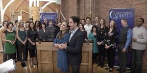 Rewind: CINDERELLA Waltzes with Laura Osnes & Santino Fontana! Video