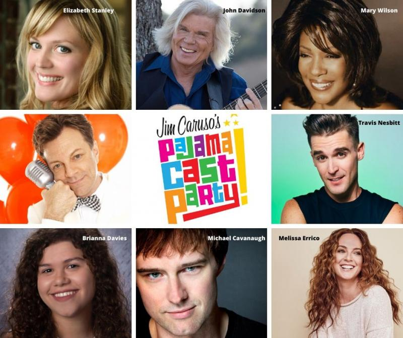 BWW Previews: Mary Wilson, Melissa Errico, and John Davidson Among Starry Cast For Jim Caruso's PAJAMA CAST PARTY