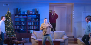 Watch a Clip From Second Stage's STRAIGHT WHITE MEN