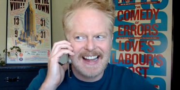 VIDEO: Jesse Tyler Ferguson and Anne Hathaway Discuss Wearing Matching Rompers For WE ARE ONE PUBLIC