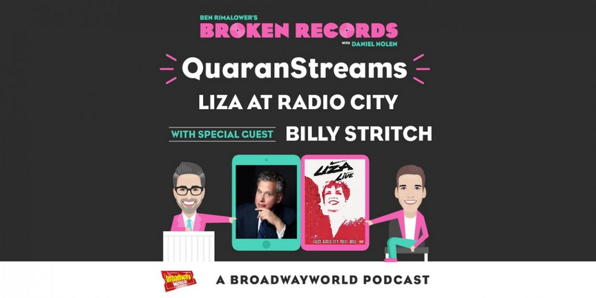 BWW Exclusive: Ben Rimalower's Broken Records QuaranStreams with Special Guest Billy Stritch!