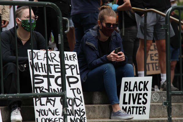 Photos: New Yorkers Take To The Streets For Black Lives Matter Protests