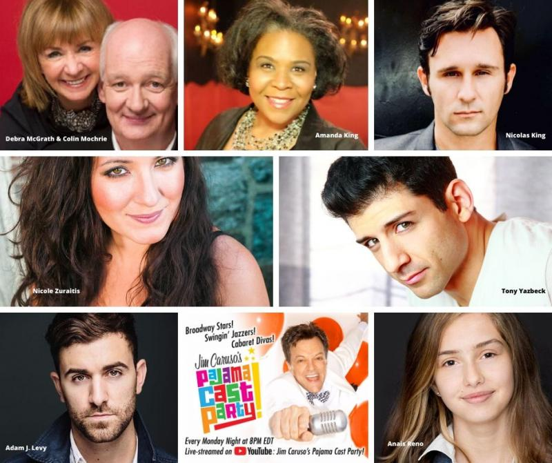 BWW Previews: JIM CARUSO'S PAJAMA CAST PARTY Welcomes Jazz, Television and Broadway Stars June 8th