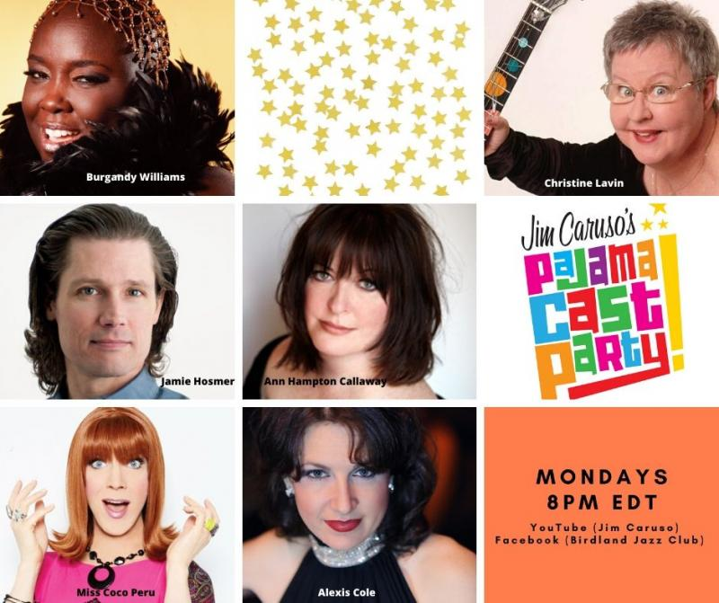 BWW Previews: Jim Caruso's Pajama Cast Party Continues Starry Lineup On June 15th At 8 PM