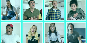 Millie O'Connell, Sophie Isaacs, and More Sing 'Flat 15B' From HALLS Video