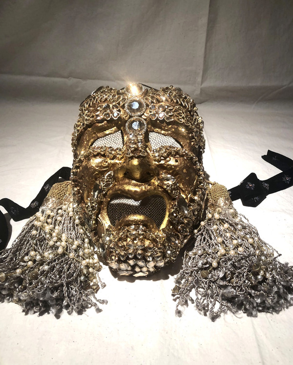 Tragedy MasquerAID Mask by Gregory Gale Photo